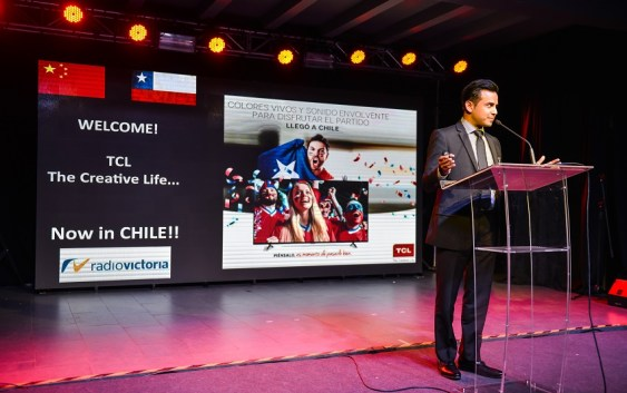 Llega a Chile TCL (The Creative Life) el Top 3 Global en Televisión