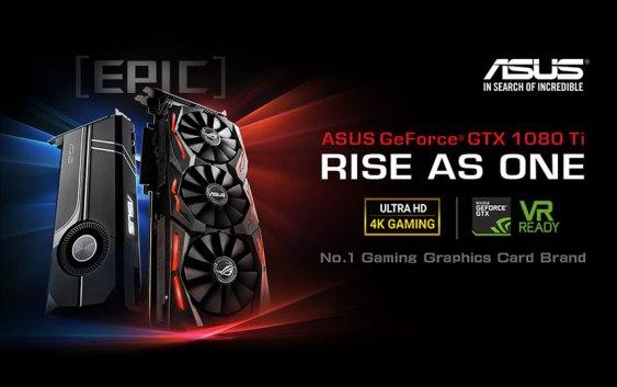 ASUS Republic of Gamers anuncia nueva Strix GeForce GTX 1080 Ti