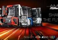 ASRock anuncia el lanzamiento de sus placas para AMD Ryzen