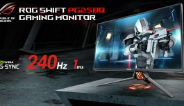 ASUS ROG trae a Chile el 1er monitor gamer con 240Hz de refresco.