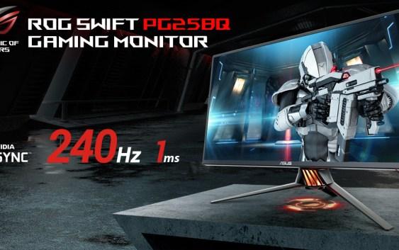 ASUS ROG trae a Chile el 1er monitor gamer con 240Hz de refresco.