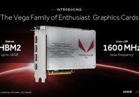 AMD dice que VEGA le hará competencia a las GTX 1080Ti y Titan Xp