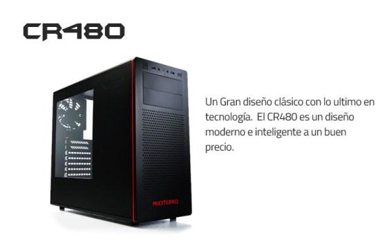 Análisis Gabinete Riotoro CR480 (Mid Tower)