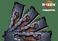 G.SKILL anuncia nuevas memorias DDR4 para procesadores AMD Ryzen™ Threadripper™