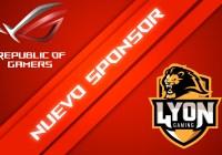 ASUS ROG es el nuevo patrocinador del equipo profesional de eSports, Lyon Gaming.