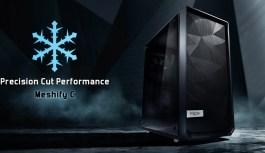 Fractal Design lanza el Meshify C con un diseño de alto flujo de aire y estilo inspirado en Stealth.