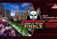 Llegan las finales de TEKKEN World Tour en San Francisco, California