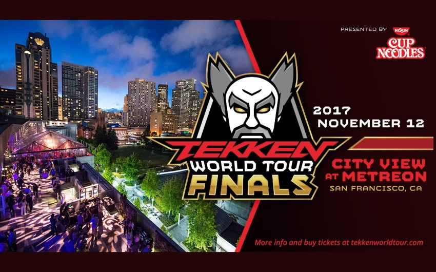 Llegan las finales de TEKKEN World Tour en San Francisco, California