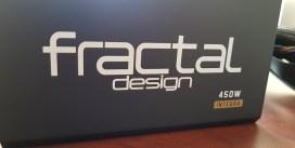 Análisis fuente de poder Fractal-Design Integra M 450W (80+ Bronze)