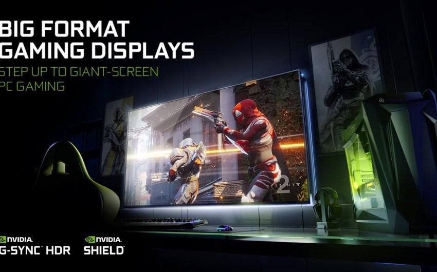 CES2018: NVIDIA presenta una pantalla de 65″, 4K, HDR, 120Hz y con G-Sync