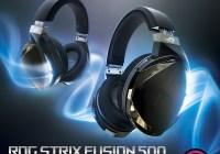 Asus ROG presenta el Headset Strix Fusion 500 sonido envolvente con iluminación sincronizada