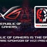 ASUS Republic of Gamers (ROG) es presentado como el Sponsor de Hardware Oficial para la H1Z1 Pro League