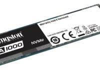 Kingston presenta el A1000, su SSD PCIe NVMe de entrada con 3D Nand