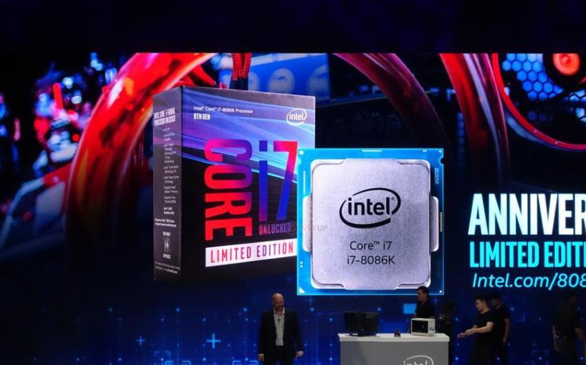 COMPUTEX2018: Intel lanza el Core i7 8086K Edición Limitada