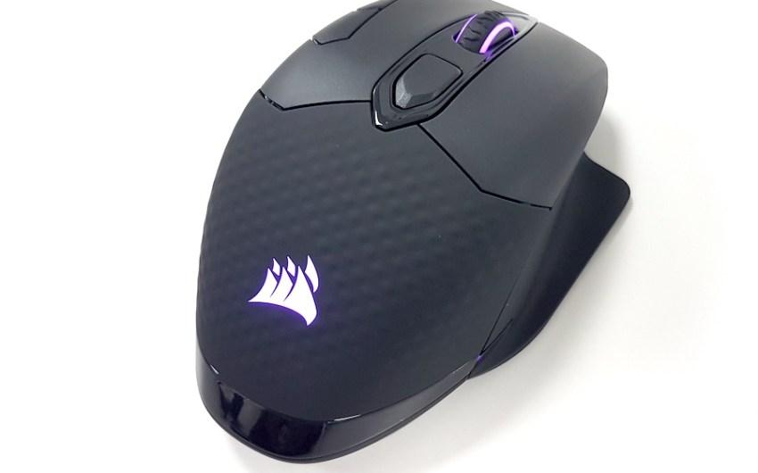 Review Mouse Corsair Dark Core RGB SE