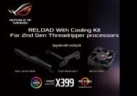 ASUS Anuncia Suporte para 2nd Gen de Procesadores AMD Ryzen Threadripper en Placas Madres X399 Series