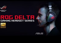 ASUS Republic of Gamers Anuncia Línea de Headset  ROG Delta and ROG Delta Core