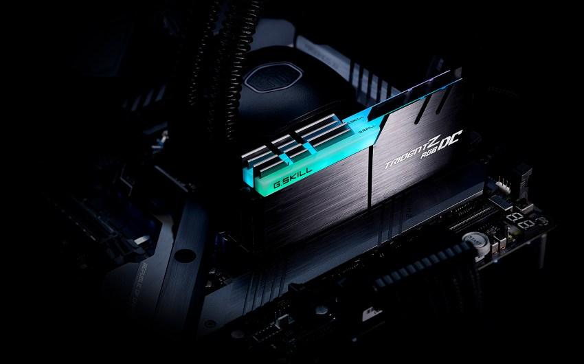 G.SKILL anuncia el kit de memoria DDR4 de doble capacidad con Trident Z RGB DC serie 32GBx2