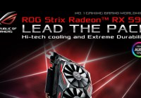 ASUS Republic of Gamers Anuncia su VGA ROG Strix Radeon RX 590