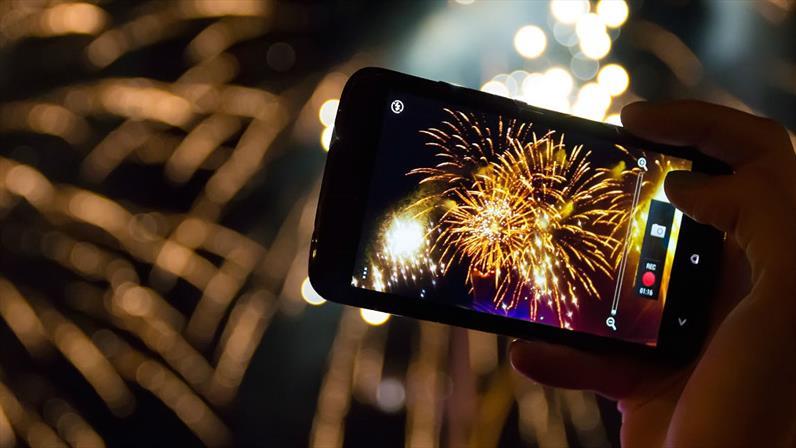 5 tips de Samsung para tomar la mejor foto en Año Nuevo