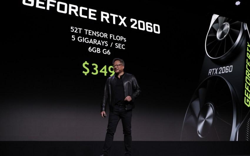 Las acciones de NVIDIA se hunden nuevamente, efectos retardados de la criptomoneda como la causa de esto.