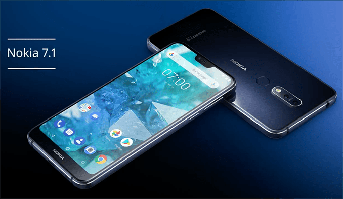 Llegó a Chile el nuevo Nokia 7.1 con tecnología Pure Display