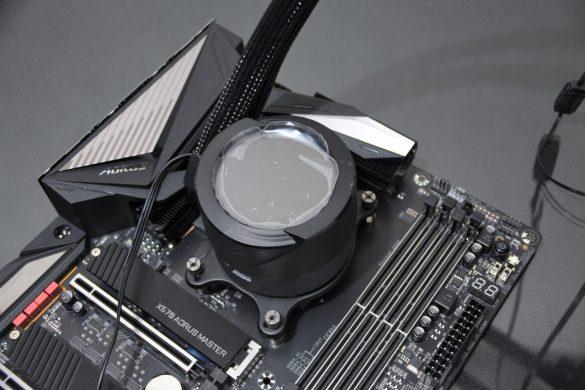 Paso 6: Verificar que el bloque esté firme al procesador/socket AM4