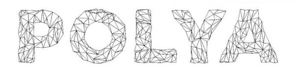Polya free good font for logo