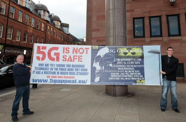 5G arrays emit Class 1 Radiation frequencies and should be treated as a danger to the Public