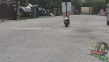 FLJ T113 11inch Off Road Electric Scooter Riding 2