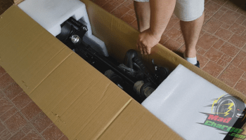 FLJ T113 11inch electric scooter unboxing 2c