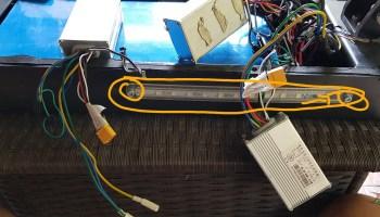 FLJ T113 11inch led bands