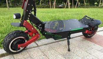 FLJ S8 Off Road Electric Scooter Quick Review 4