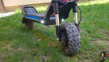 Kaabo Wolf Warrior II Road Electric Scooter Quick Review 2