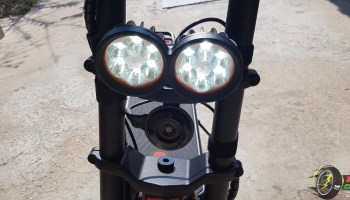 Kaabo Wolf Warrior II Front Lights ON