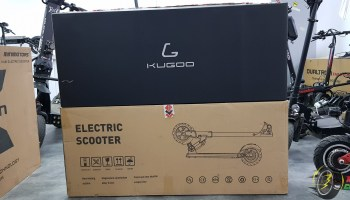 Unboxing Kugoo M2 PRO electric scooter