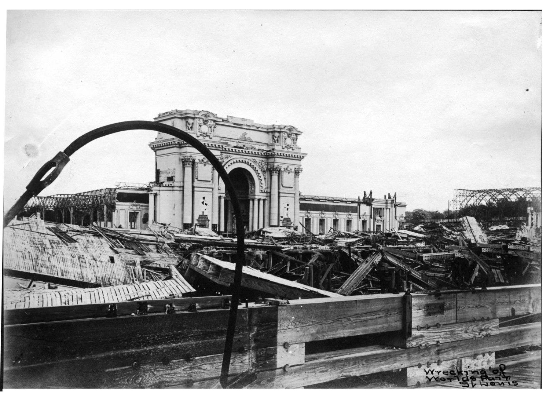 World's Fair demolition