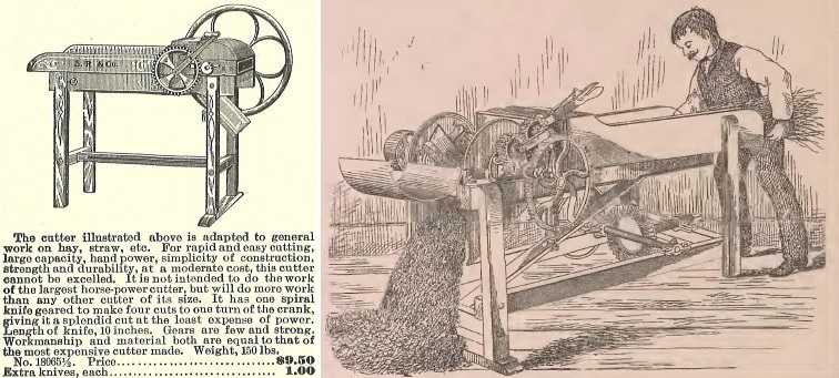 cutter advertisement and illustration