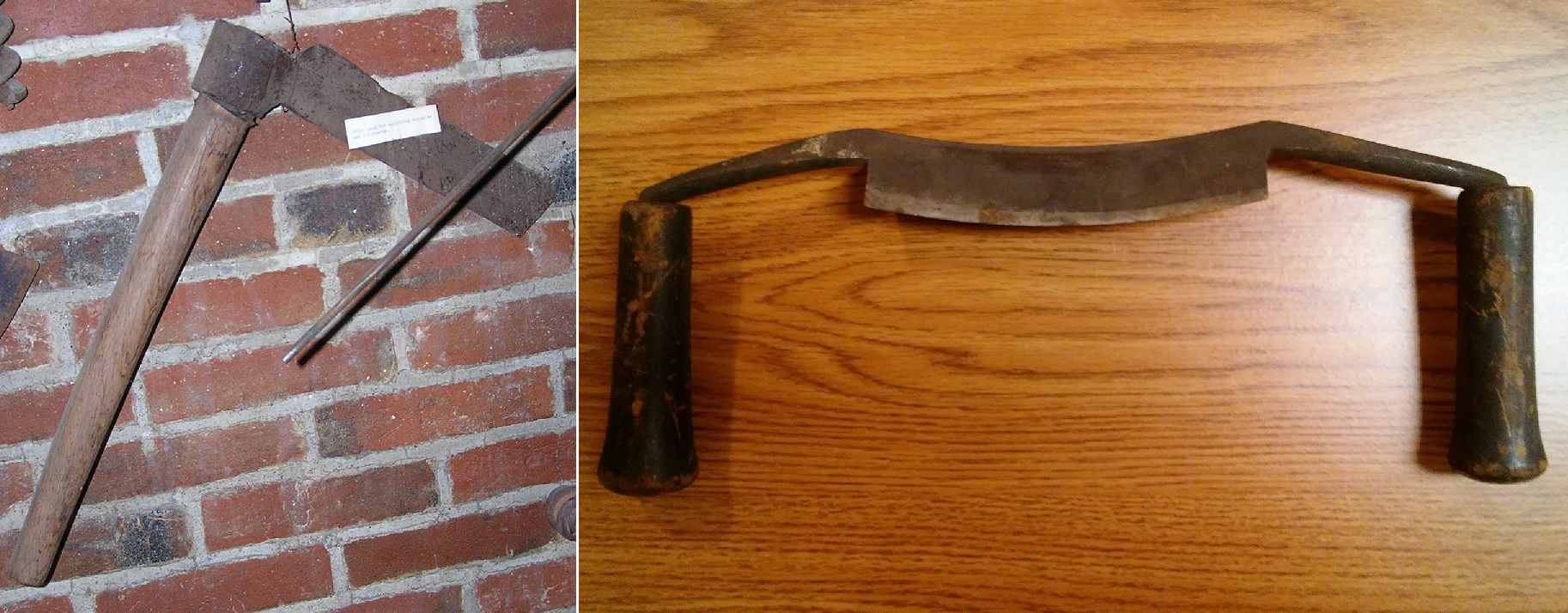 froe and drawknife