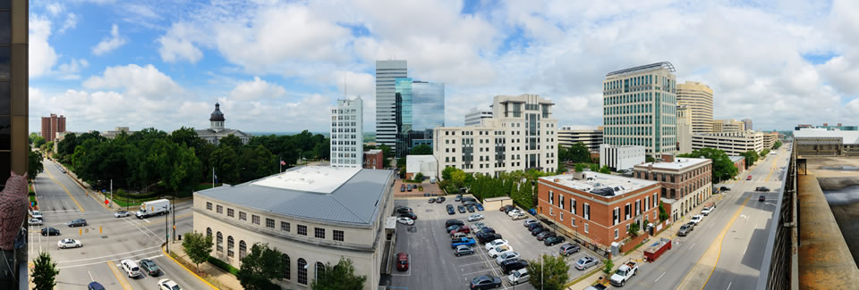 Downtown Lexington South Carolina