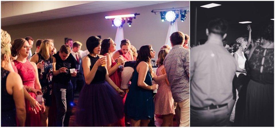 South Dakota wedding reception photos | Maddie Peschong Photography