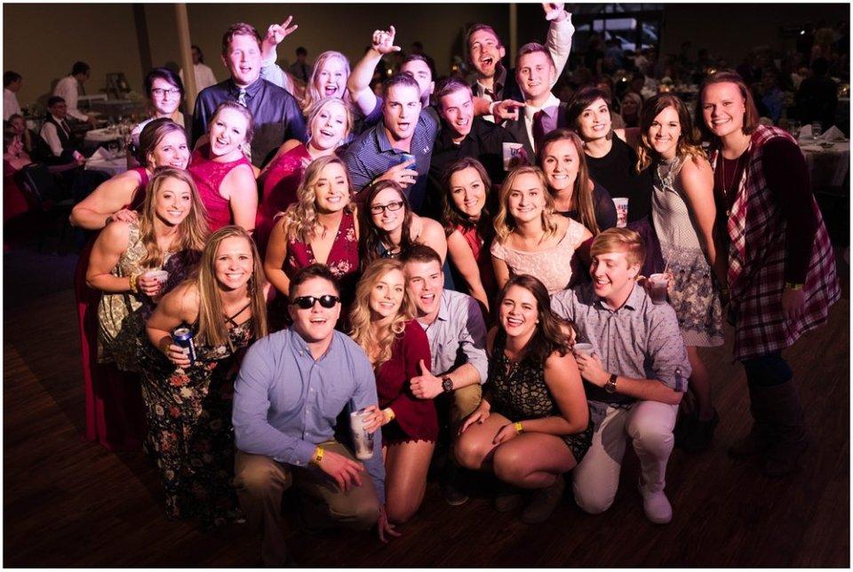South Dakota wedding reception dance floor | Maddie Peschong Photography