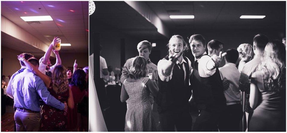 Wedding reception dance floor | Maddie Peschong Photography