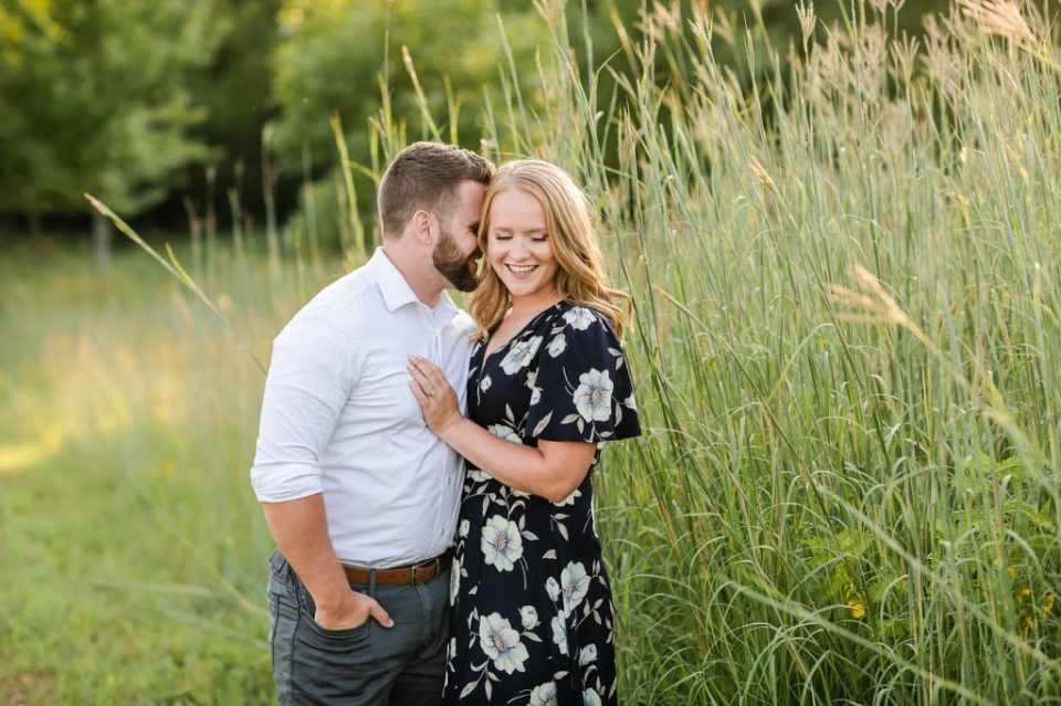 engagement session sertoma park sioux falls