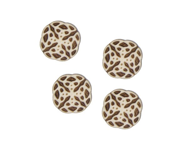 Celtic Knots 04 Engraved Wood Cabochons