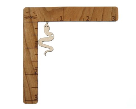 Snakes Blank Wood Drop Charms