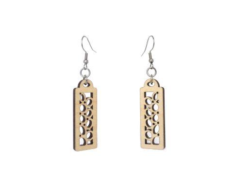 Trellis Wood Earrings