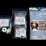 beagle dog 01 tiny mini amulet bag peyote bead pattern pdf or kit diy maddiethekat designs 2