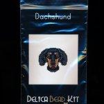 Dachshund Dog Brick Stitch Seed Bead Pattern PDF or KIT DIY-Maddiethekat Designs
