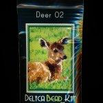 Deer 02 Small Panel Peyote Seed Bead Pattern PDF or KIT DIY-Maddiethekat Designs